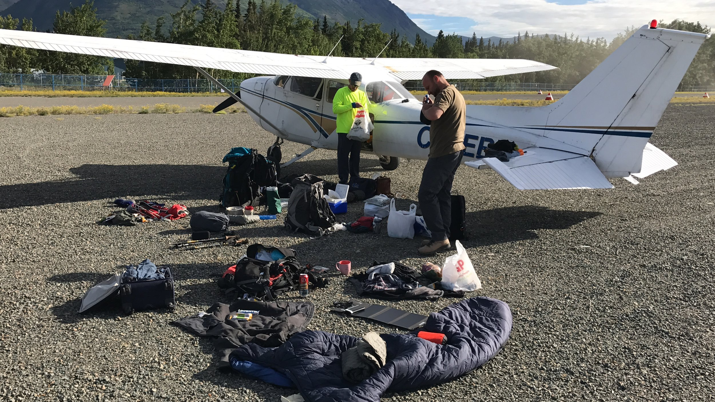 Getting ready for the Chilkoot trail
