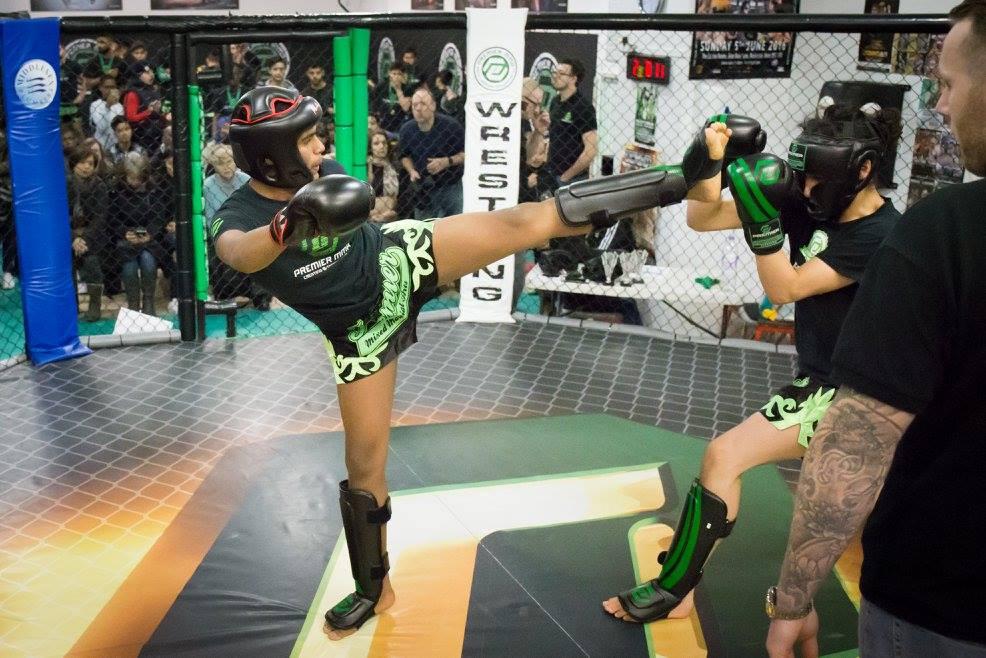 teen kickboxing harrow