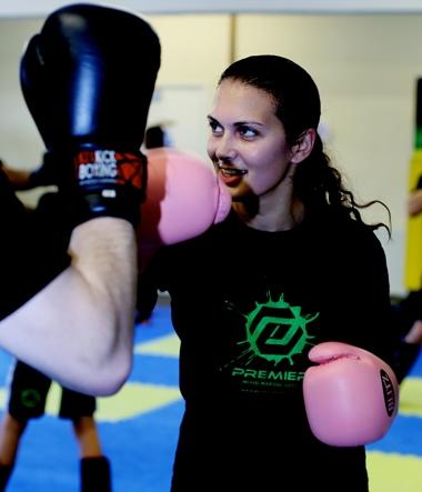 south harrow ladies kickboxing