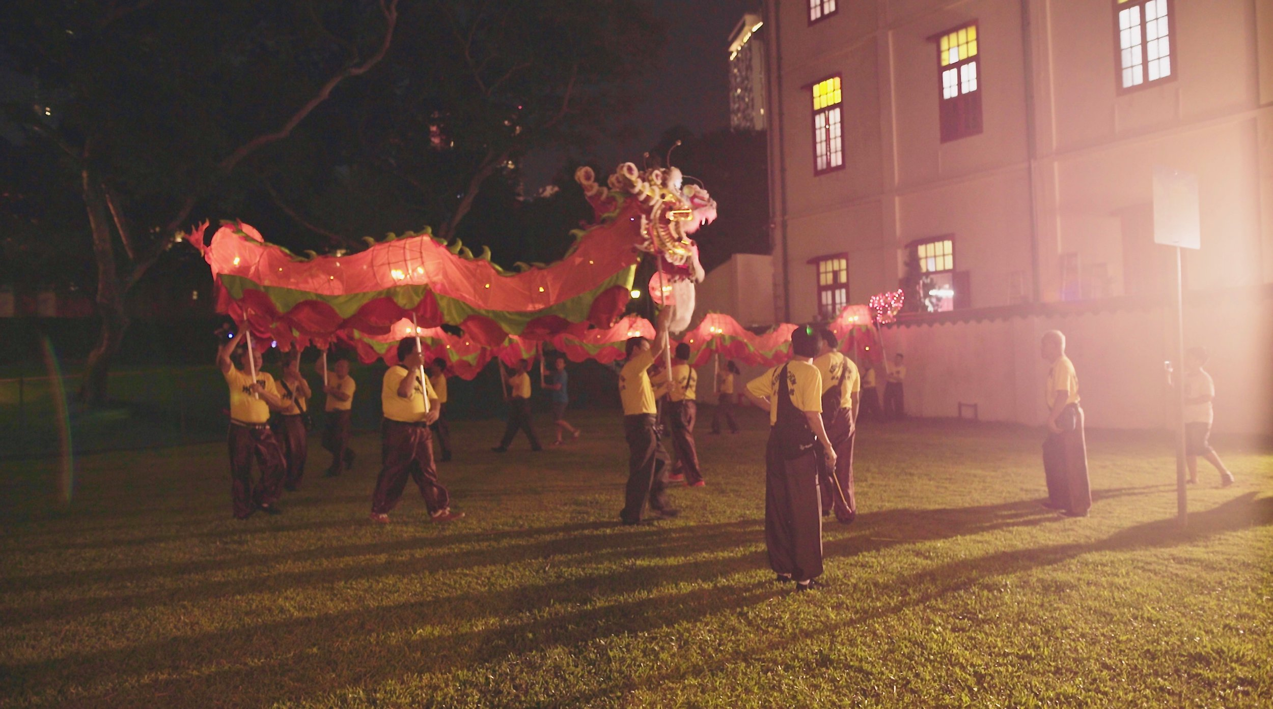 Screen grab : Intangible Cultural Heritage documentary on Mid-Autumn Festival.