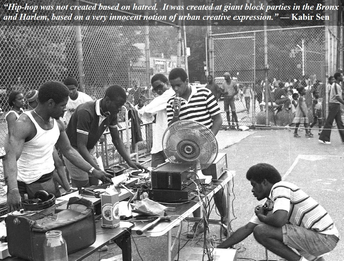 BLOCK PARTIES AND BASKETBALL