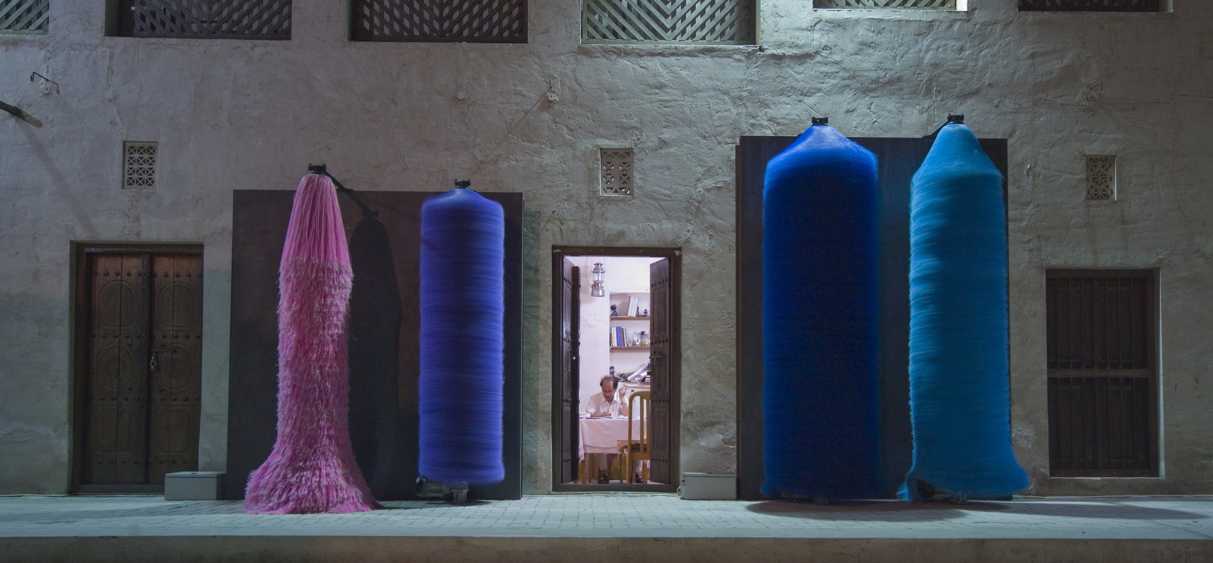 LARA FAVORETTO 'SIMPLE COUPLES' INSTALLED OUTDOORS IN SHARJAH