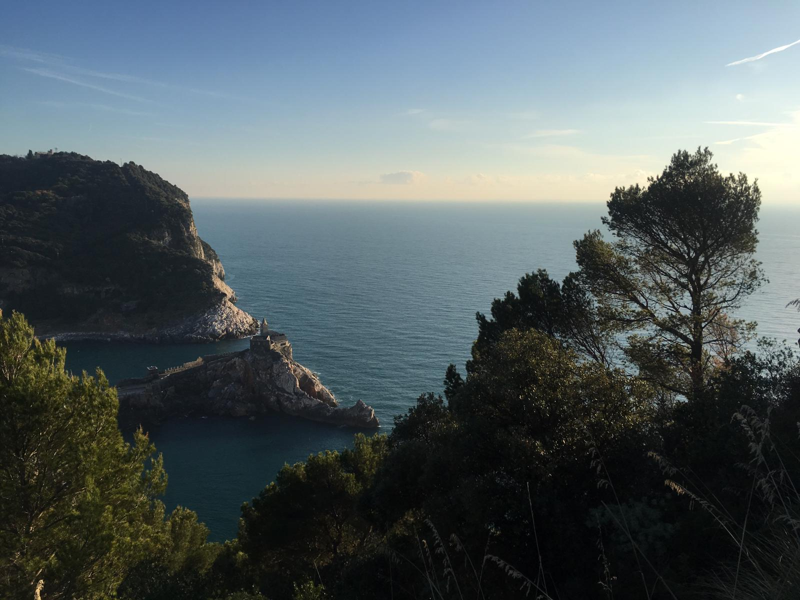 OUR NEW YEAR'S EVE WALK LONG THE CLIFFTOPS TO THE CHURCH OF SAN PIETRO IN PORTOVENERE