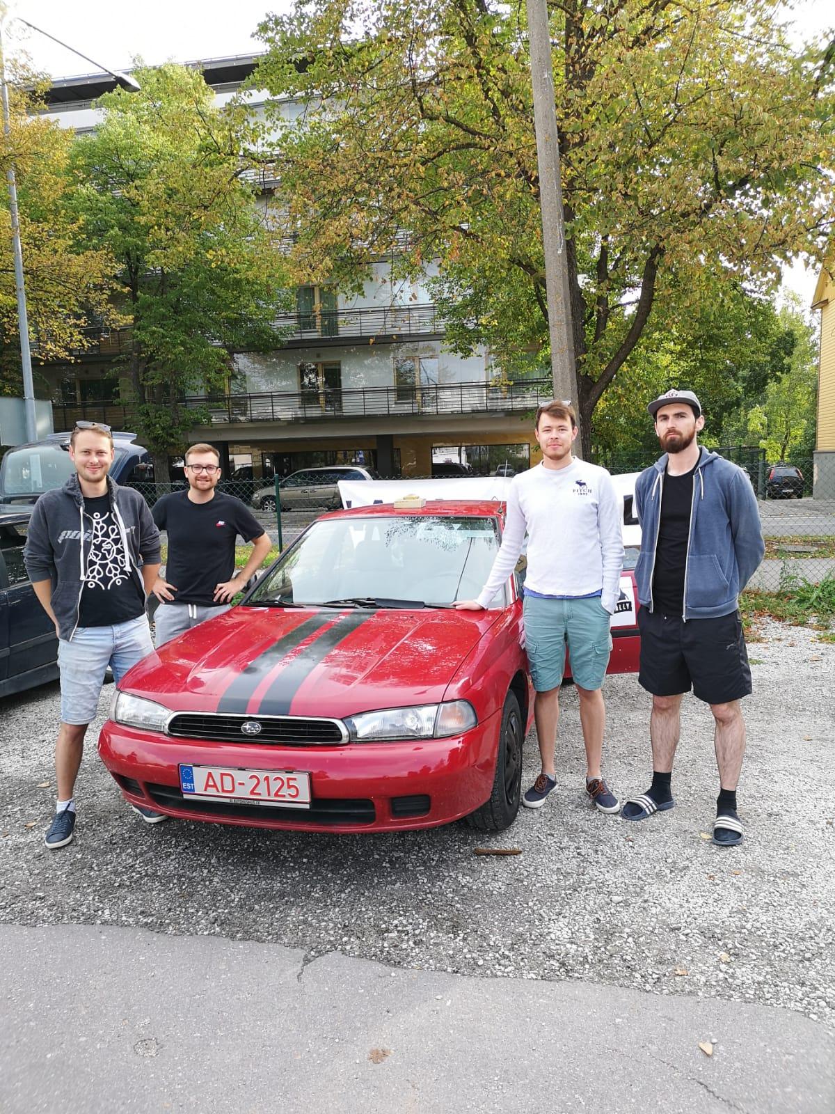 1st - Boohai: Legacy Racing - Rob, Ash, Ash, Cristian