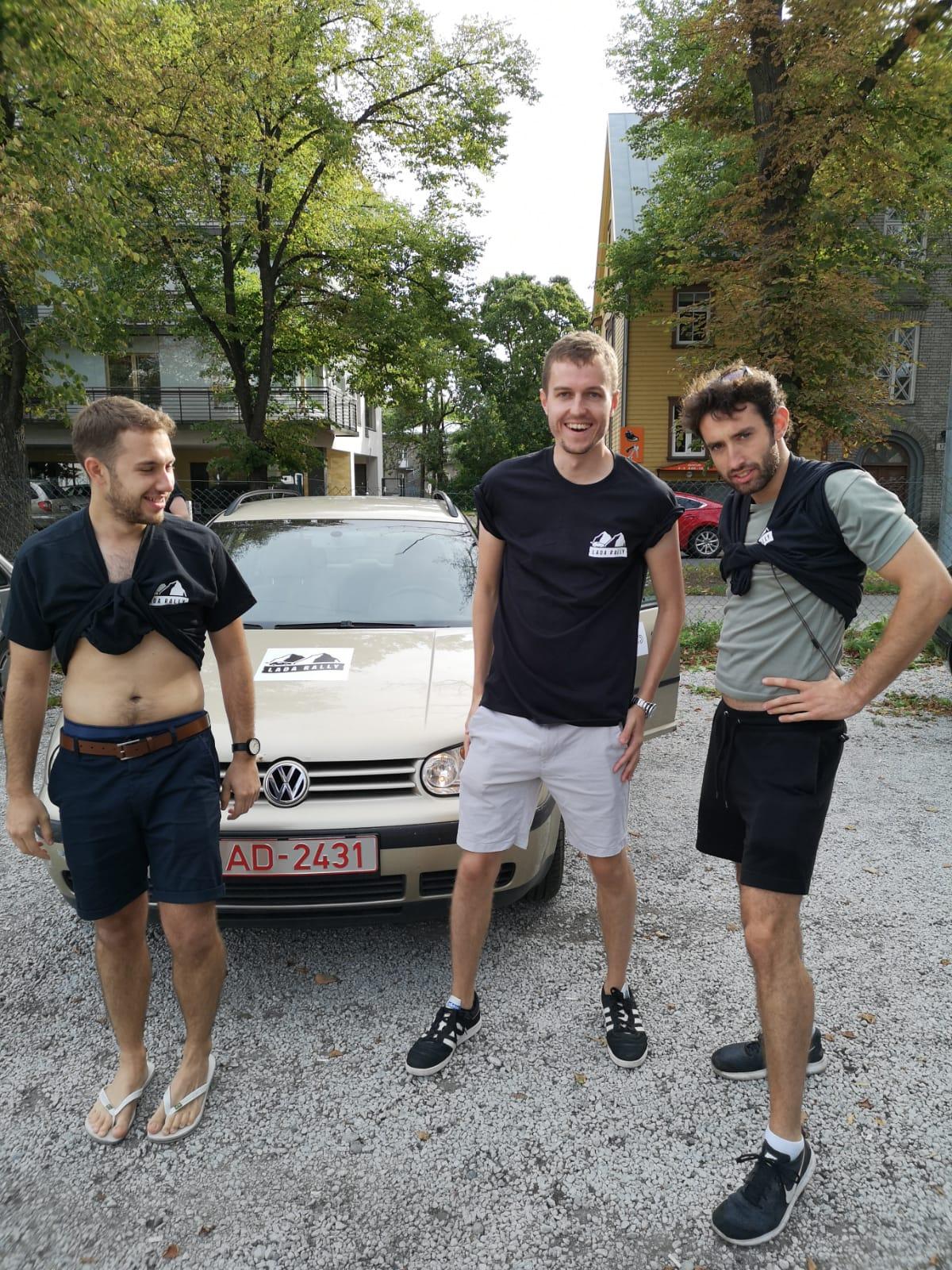 3rd - I'm Tallinn You - Ed, Tom, Max