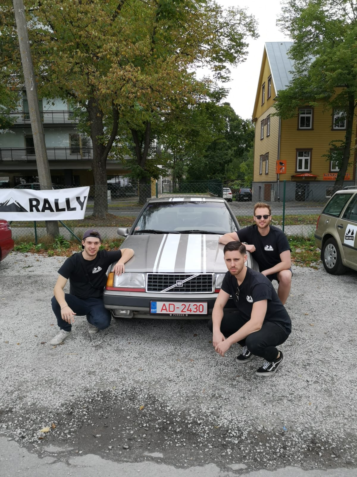 7th (DNF) - Lada FC - Andy, Tom, Jimmo