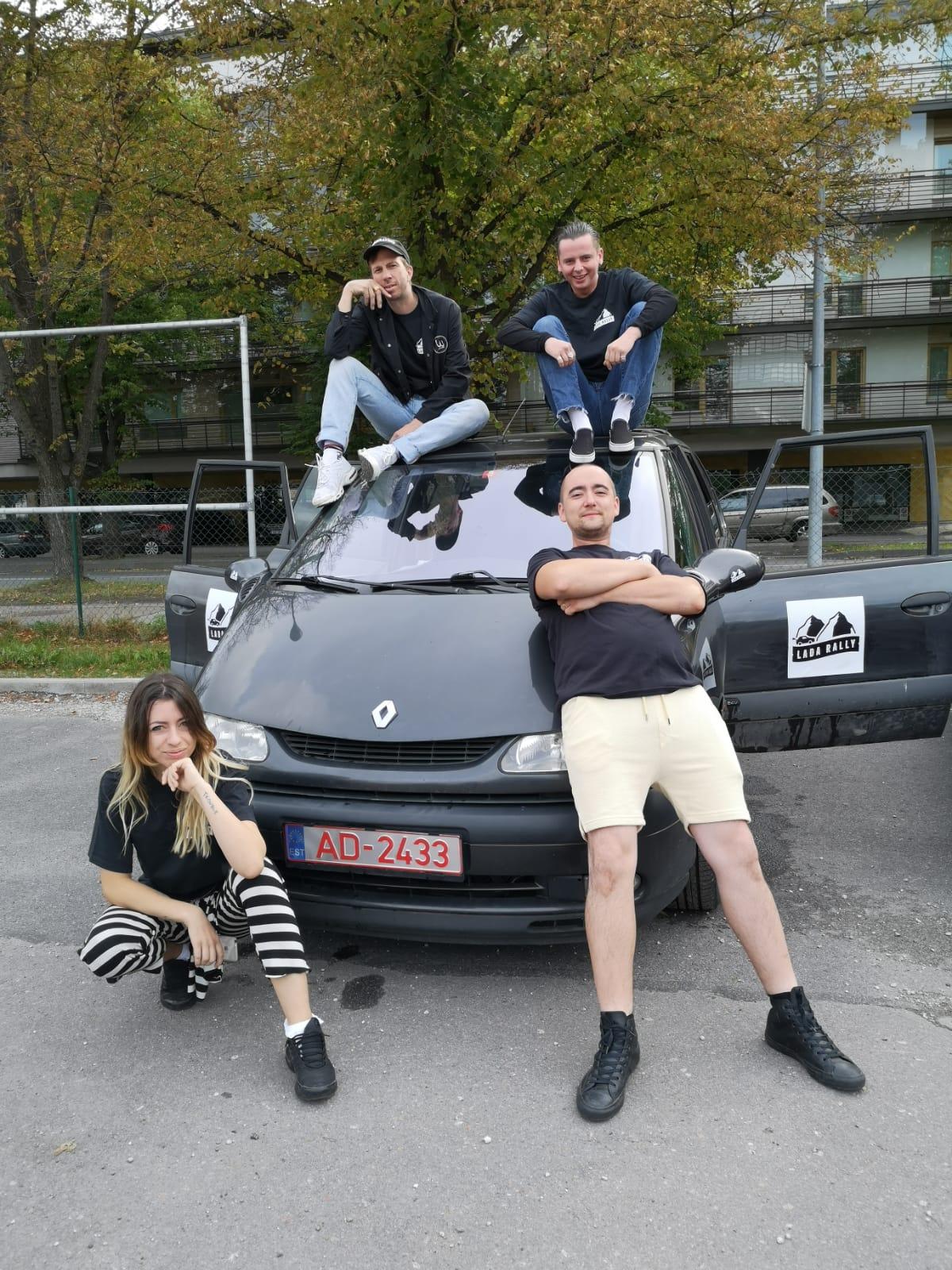5th - East 7team - Hannah, Simon, Will, Hoey