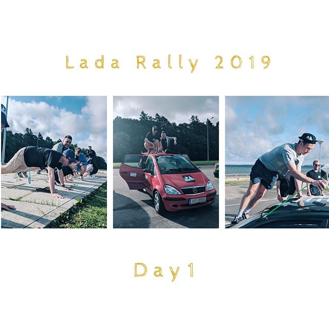After being put through their paces at the #Tallinn start line this morning our teams have split off in varying directions going north, east, south and west. All of them have embraced the true spirit of #Lada and are taking on the challenges meaning that currently we have someone with one eyebrow, someone completing a 48hr stint of being shirtless and a team that have had two hitchhikers with them for 12hrs! #ladarally2019 . . . . . . . . . . . . . #travel #Travelgram #traveling #Travelphotography #travelling #traveler #travelmore #traveltheworld #travelblog #roadtrip #RoadTrips #adventure #adventures #adventuretime #adventurer #AdventureCulture #AdventureTravel #europe #EU #summer #summertravel #summerholidays
