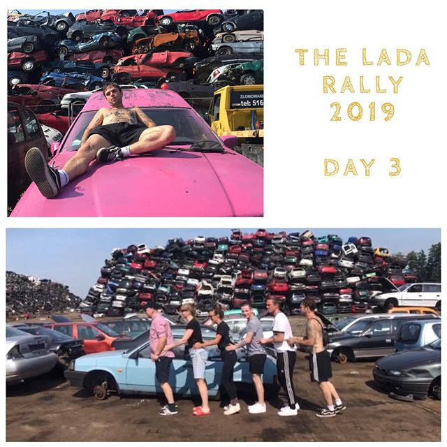 3 days in and we've seen a lot of our teams making their way through #poland where a shirt has now been returned to one of our ralliers but his hair has not and only a small blonde strip remains..... We've seen some brilliant conga-ing around our rally's namesake and sent some excellent Haka videos (winner to be revealed tomorrow) #ladarally2019 . . . . . . . . . . . . . #travel #Travelgram #traveling #Travelphotography #travelling #traveler #travelmore #traveltheworld #travelblog #roadtrip #RoadTrips #adventure #adventures #adventuretime #adventurer #AdventureCulture #AdventureTravel #europe #EU #summer #summertravel #summerholidays
