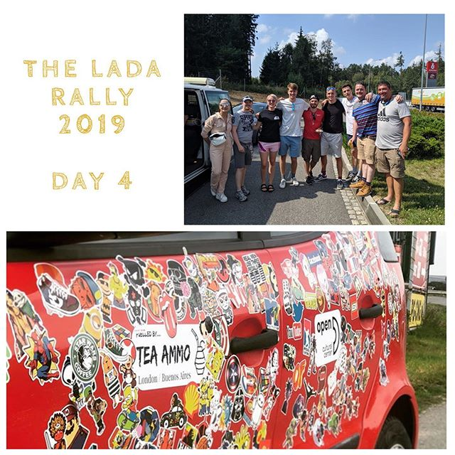 We've had teams befriending lorry drivers, police officers and border guards, a number of new hair cuts  and attempts at downing copious amounts of milks all in the name of #Lada challenges. We're impressed with all our teams dedication to getting those precious hours knocked off. A very successful day 4 all round. #ladarally2019 . . . . . . . . . . . . . . . . . . . . . #travel #Travelgram #traveling #Travelphotography #travelling #traveler #travelmore #traveltheworld #trape velblog #roadtrip #RoadTrips #adventure #adventures #adventuretime #adventurer #AdventureCulture #AdventureTravel #europe #EU #summer #summertravel #summerholidays
