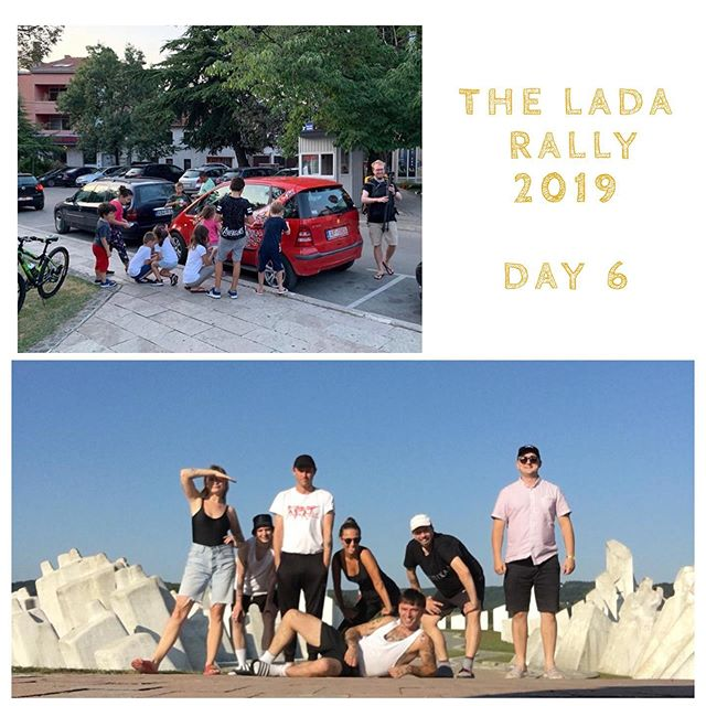 At the end of day 6 and it looks like most of our teams are lined up along the Adriatic coastline ready for the final full day on the road tomorrow. We've had teams bungee jumping, floating in fountains in rubber rings, buying the best road-side moonshine and still attempting to down a gallon of milk in ten seconds #ladarally2019 . . . . . . . . #travel #Travelgram #traveling #Travelphotography #travelling #traveler #travelmore #traveltheworld #trape velblog #roadtrip #RoadTrips #adventure #adventures #adventuretime #adventurer #AdventureCulture #AdventureTravel #europe #EU #summer #summertravel #summerholidays #tbt #thursday
