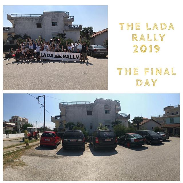 Yesterday marked the end of #ladarally2019. After a week on the road our teams arrived in #Polykastro to cross the official Lada finishing line. Here they donated their beloved cars to the incredible @openculturalcenter and got to see first hand the amazing work they are doing. A huge thank you to everyone that participated this year, you were all brilliant and really embodied the spirit of Lada. Congratulations once again to our winning team Speed (the film) who came in with a time of just 9 hrs! And to this year's MVP @hitswithstyxx for racking up a whopping 55 hour deduction for his team. We hope to see you all again next year! . . . . . . . #travel #Travelgram #traveling #Travelphotography #travelling #traveler #travelmore #traveltheworld #trape velblog #roadtrip #RoadTrips #adventure #adventures #adventuretime #adventurer #AdventureCulture #AdventureTravel #europe #EU #summer #summertravel #summerholidays