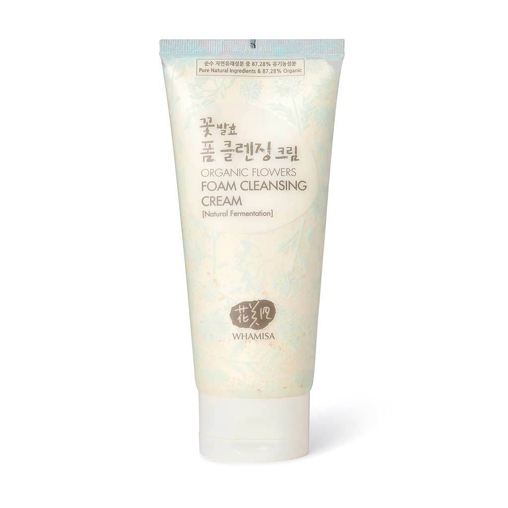 WHAMISA  Organic Flowers Foam Cleansing Cream  £25.50