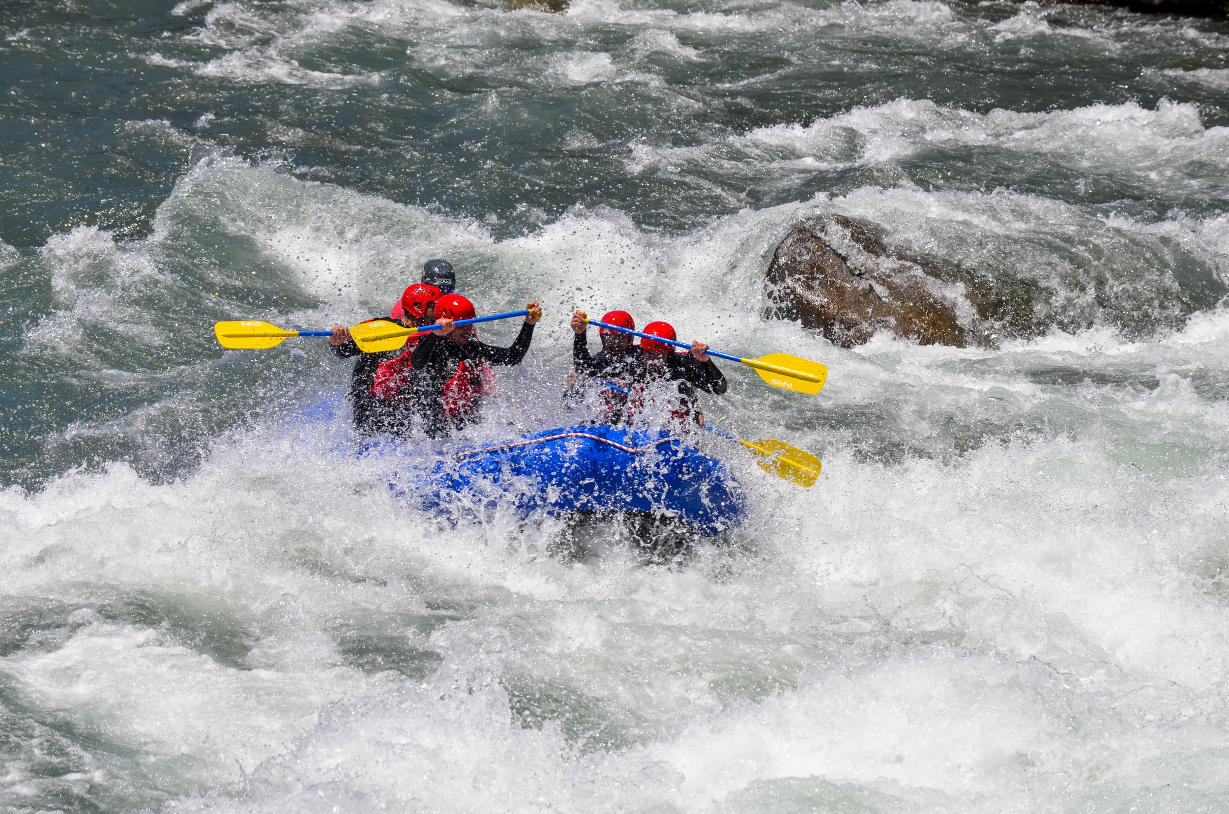 Rafting Río Ñuble Sección Basica