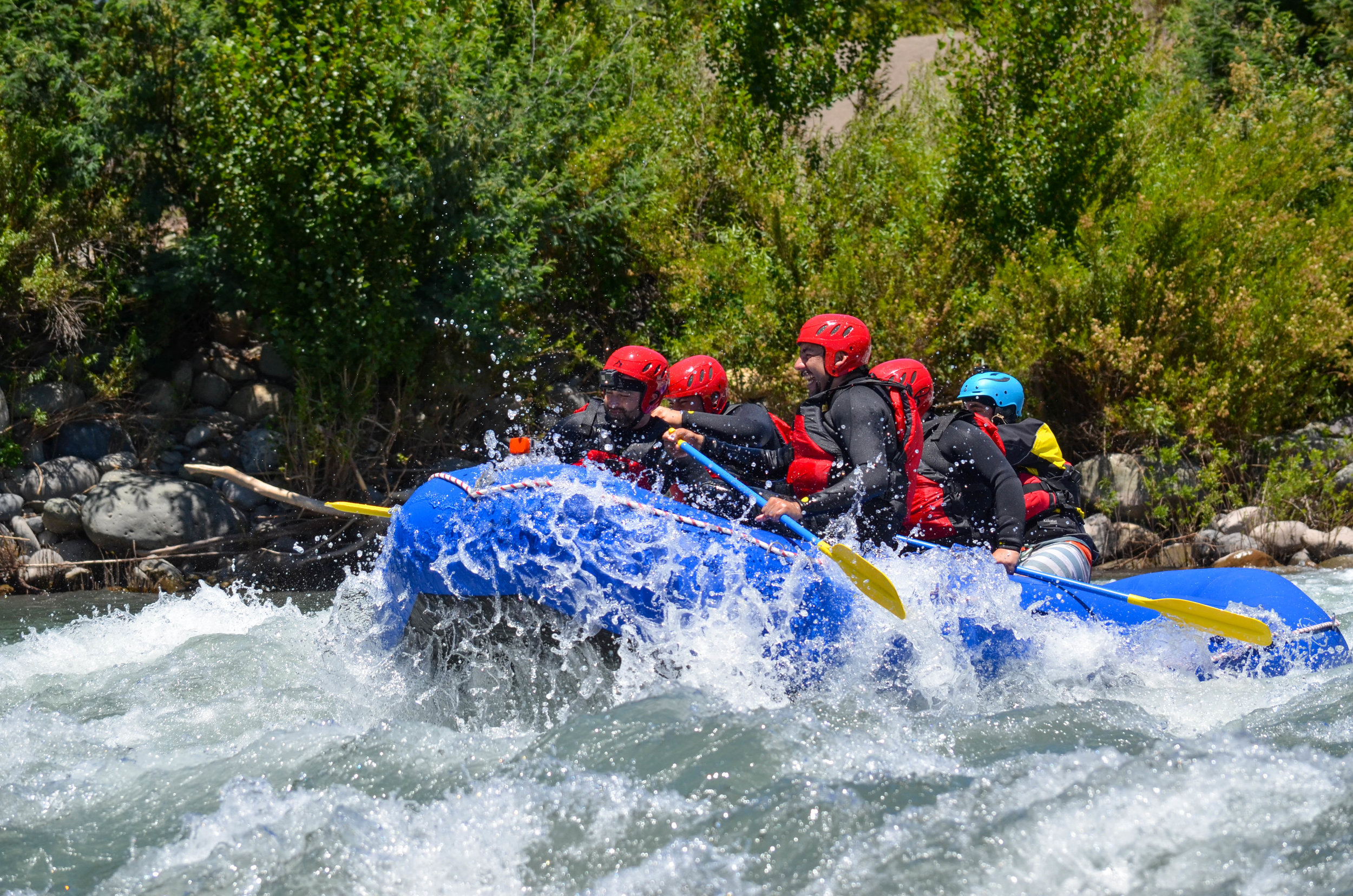 Rafting Río Ñuble Programa Full