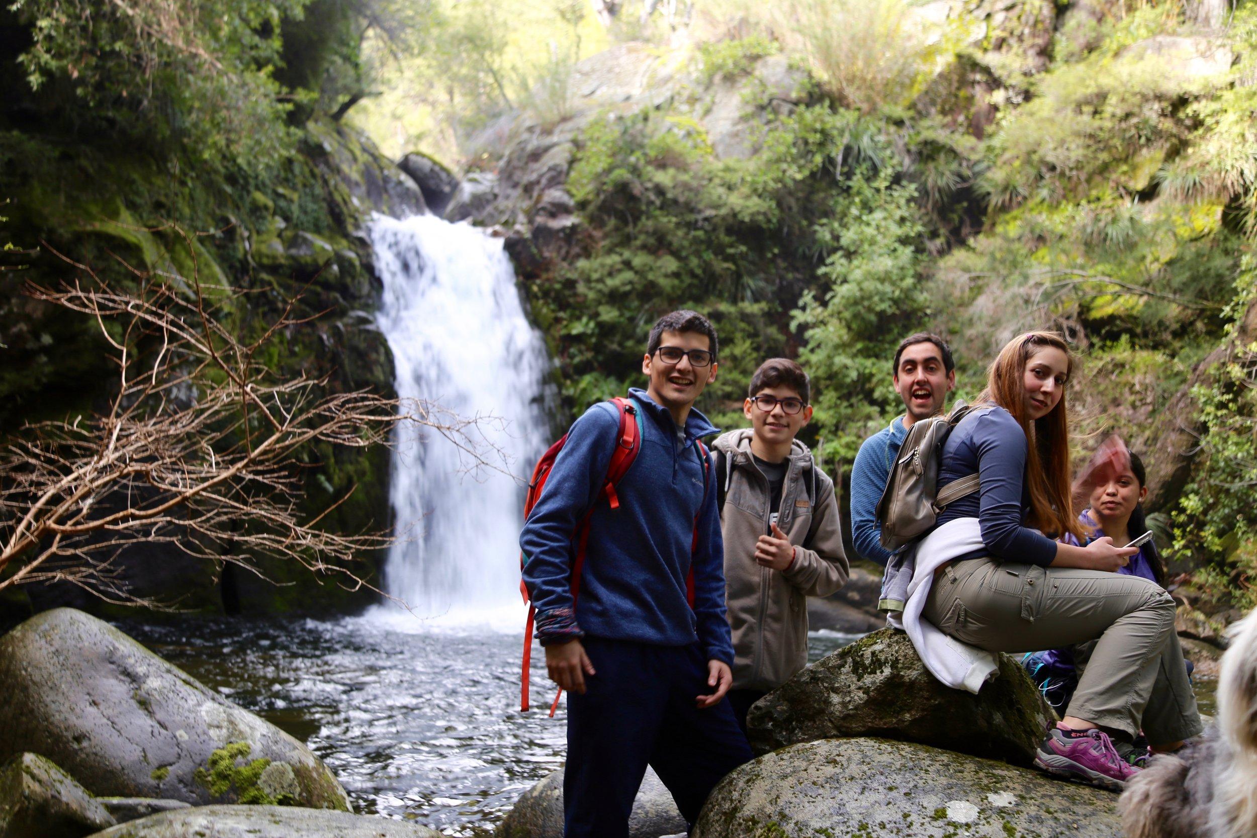 Cascada del Valiente - San Fabián de Alico