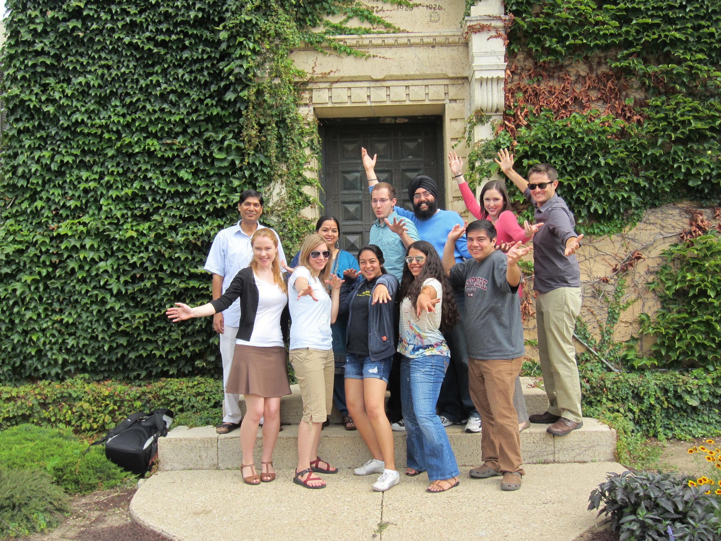 Sasli Students of Intermediate Hindi at UW Madison