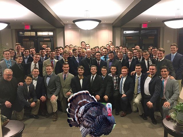 Happy Thanksgiving from us here at Phi Kap! We are thankful for all our brothers and the beautiful house we get to call our home!