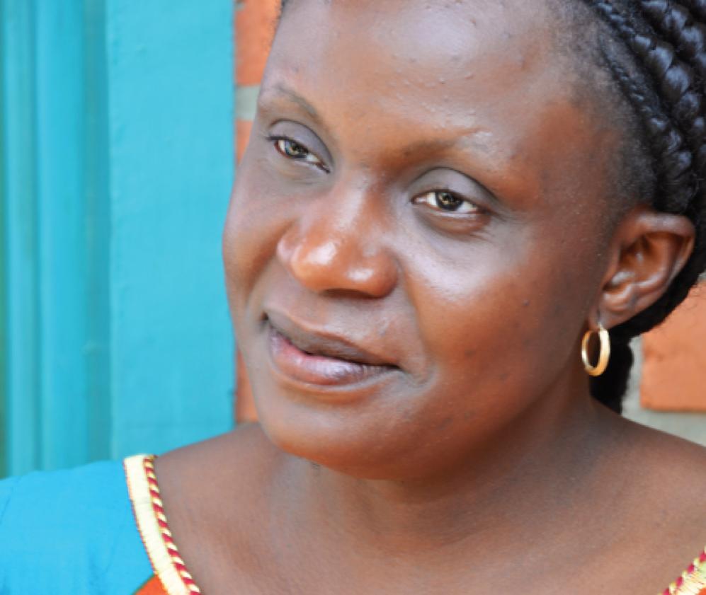 Congolese surgeon and activist Monique Kapamba Yangoy. (Photo courtesy of Christine Anderson)
