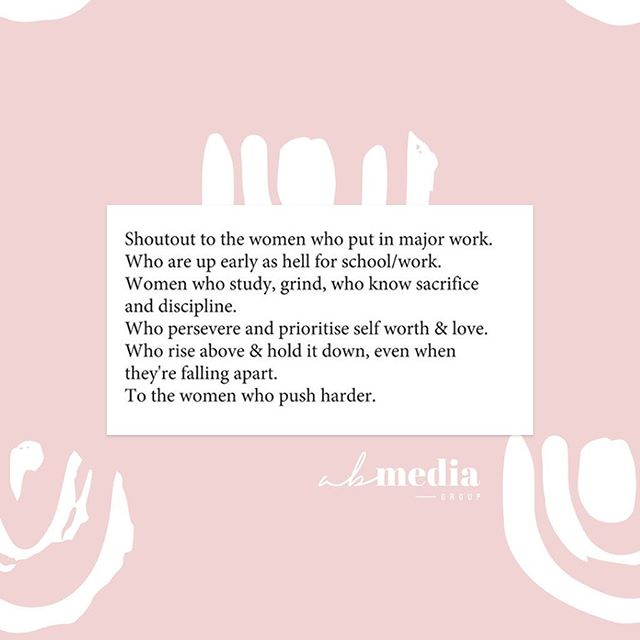 We see you! Tag your leading ladies and let them know you're proud of them 💕