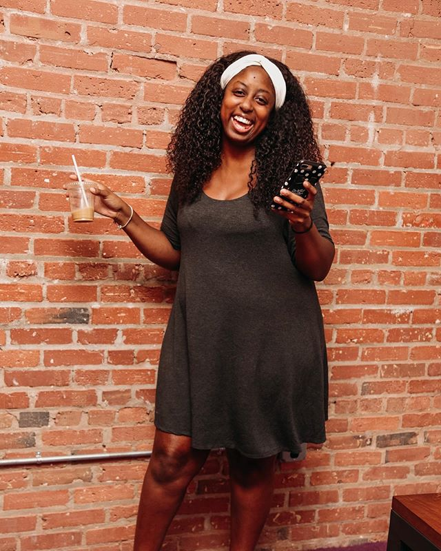 "Wishing our junior publicist, captain of the ""tew much"" committee the happiest of birthdays! @tamekashockley you put a smile on our face everyday, thank you for always jumping into the trenches with us and putting your best foot forward on every project. We celebrate you today and everyday! Here's to more years of celebrating you ♥️"