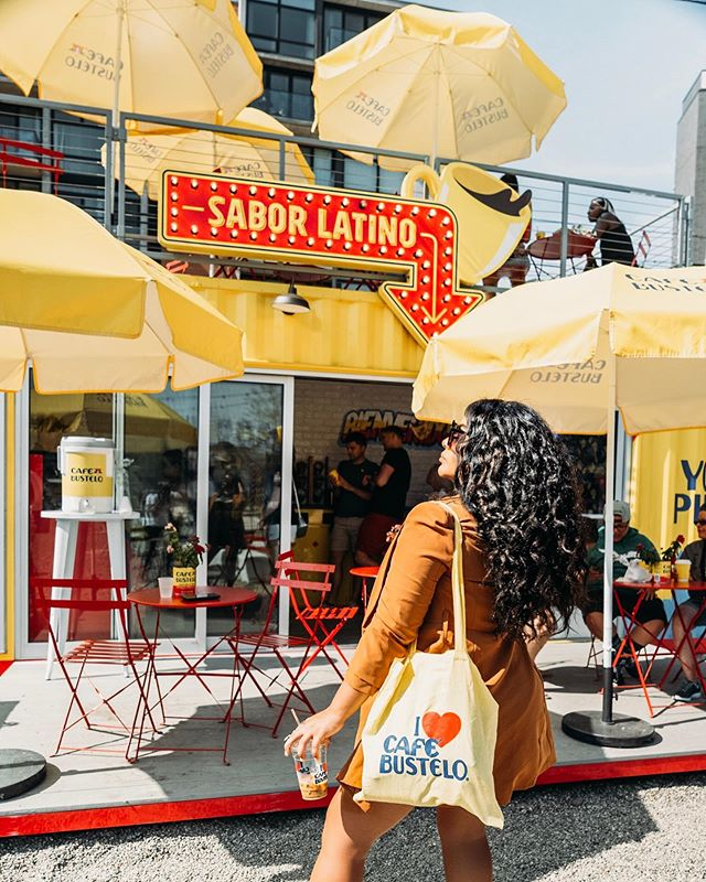 "@cafebustelo landed in Philly and they teamed up with the People's Choice @iamdelilahdee. Check out the #cafebustelophilly experience and use the discount code 'DELILAH"" to save a 'lil sumn sumn — 📸 @dvvinci"