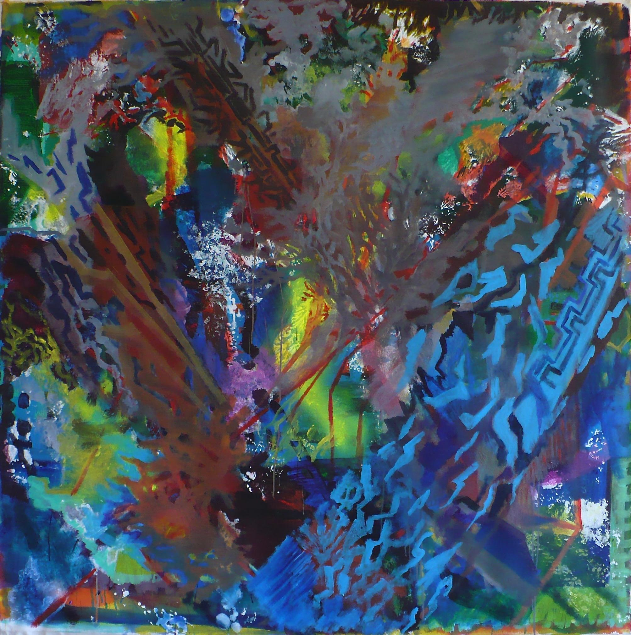 "Janus, Side View 63x63"""