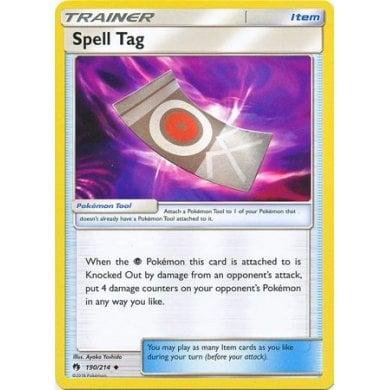235//214 SM Lost Thunder Spell Tag Secret Rare Pokemon