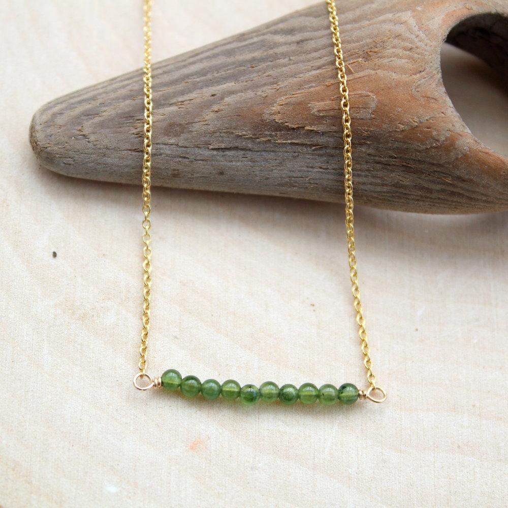 Raw Jade Bordeaux Crystal Health Necklace Small Bar Pendant tiny bar necklace Health Pendant Meaningful Necklace Bordeaux Necklace