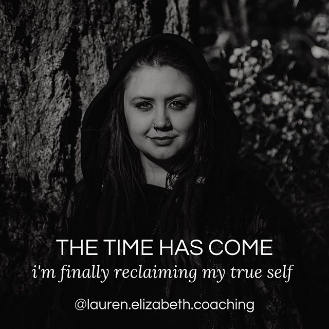 """I did a thing.   I have been going back and forth about making the change, but tonight... I decided it was time.   I have reclaimed my name and my true self as my brand.   I will be removing """"The Mindset Witch"""" from my various marketing platforms (including my website) over the coming weeks.   I am ready to embody myself fully. No more hiding behind catch phrase brands names, no more leaning into the word """"Witch"""" to attract business.  I still identify as a Witch.🕸 I still believe in Magic.🔮 I still howl at the Moon.🌙  But instead of hiding behind labels and trendy words, I am stepping up to honor the name I was given and the work I am here to do.   So allow me to reIntroduce myself..   My name is Lauren Elizabeth. I am a Soulful Empowerment Coach, Witch Wound Healer, Plant Medicine Educator and Liberation Catalyst.   I'm here to make change and to support YOU in embodying the most radical version of yourself!"""