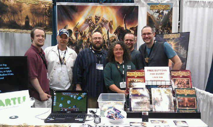 Some of the Dark Skull Studios crew.