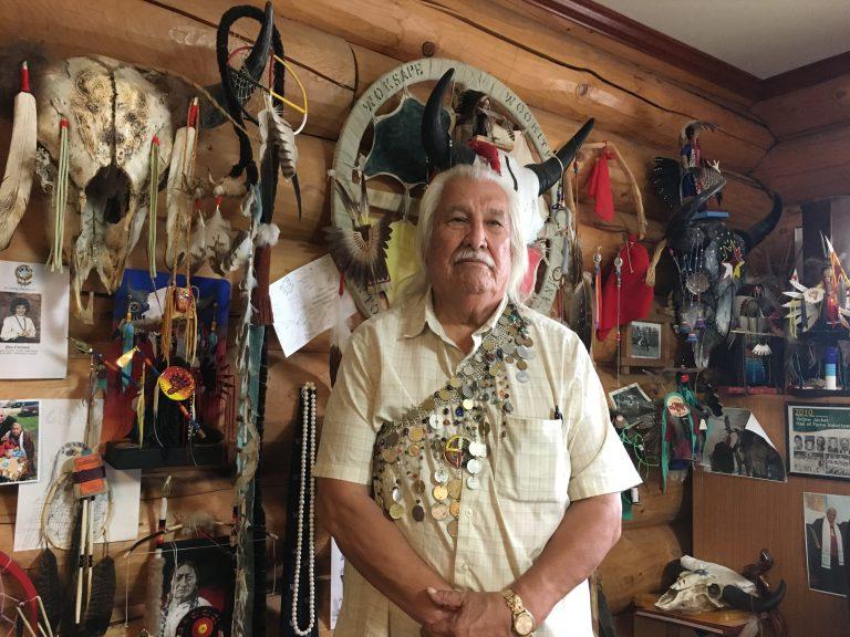 Lionel Bordeaux  President of Sinte Gleska University Rosebud Reservation, Mission, South Dakota