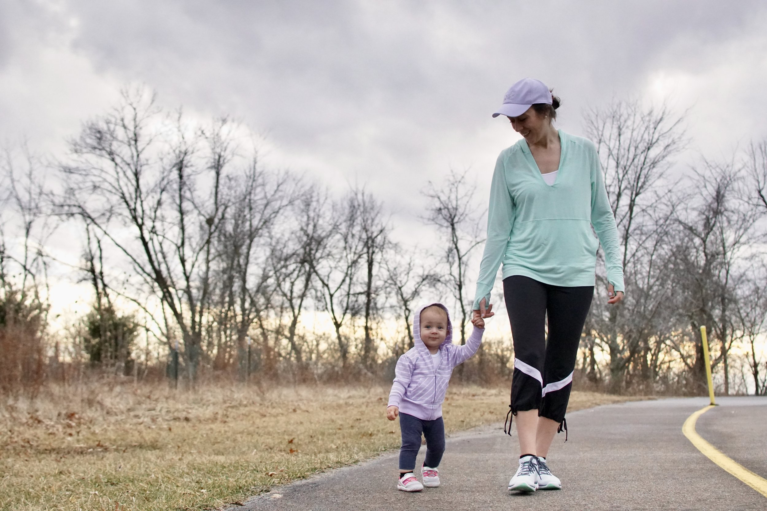 Mom and Daughter Walking Together - Parent bloggers