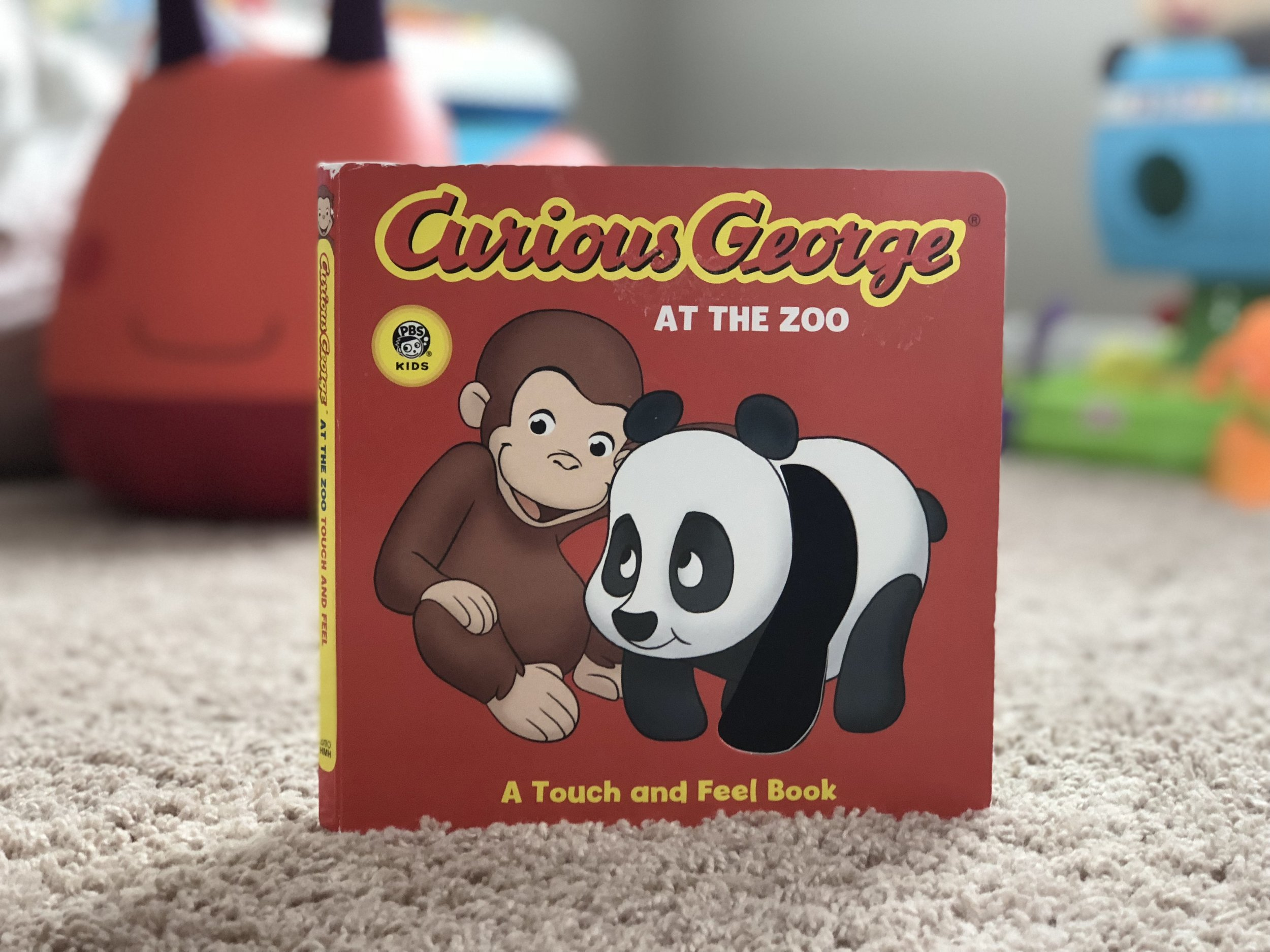 Curious George at The Zoo a Touch and Feel Book