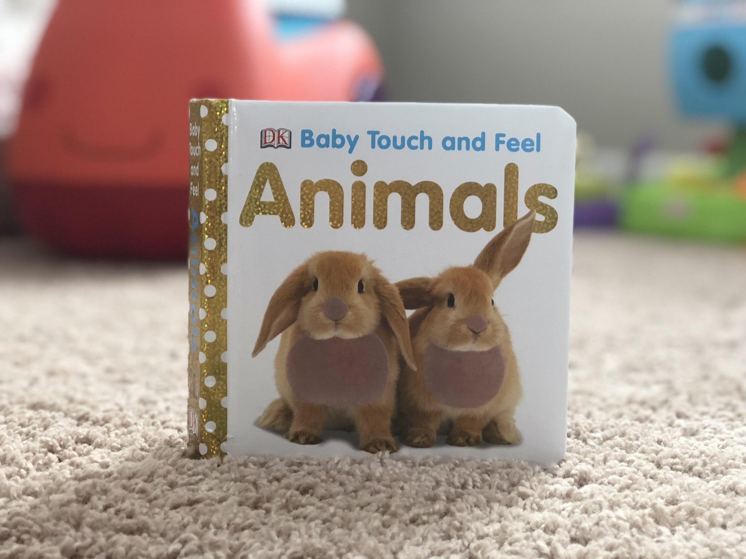 Baby Touch and Feel Animals a lift the flap book