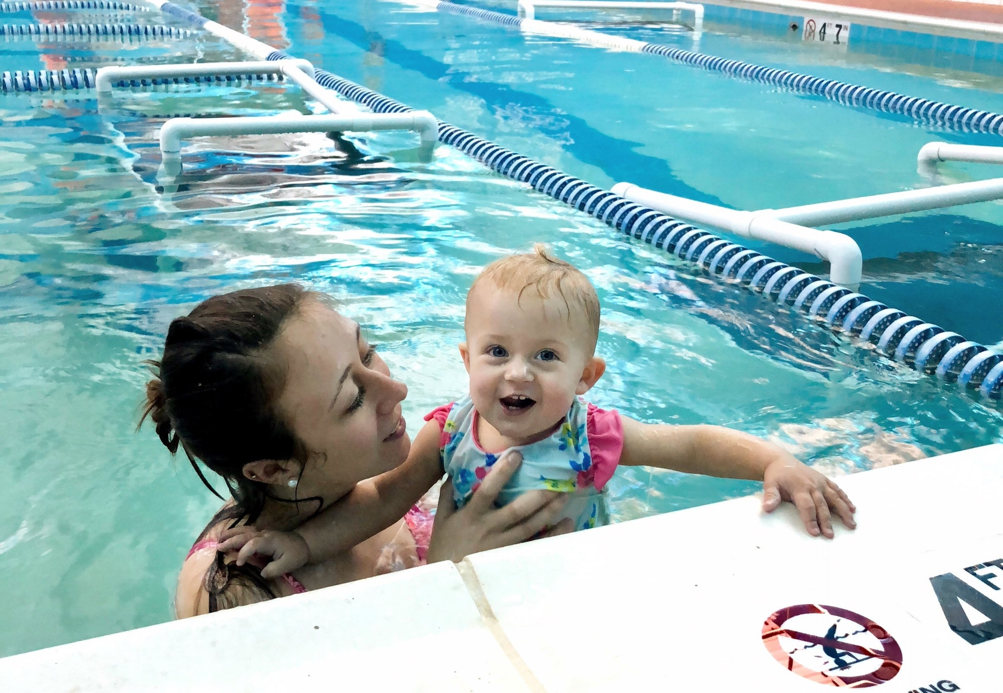 Why We Put Our One Year Old Daughter in Swim Lessons | Bear Paddle Swim School