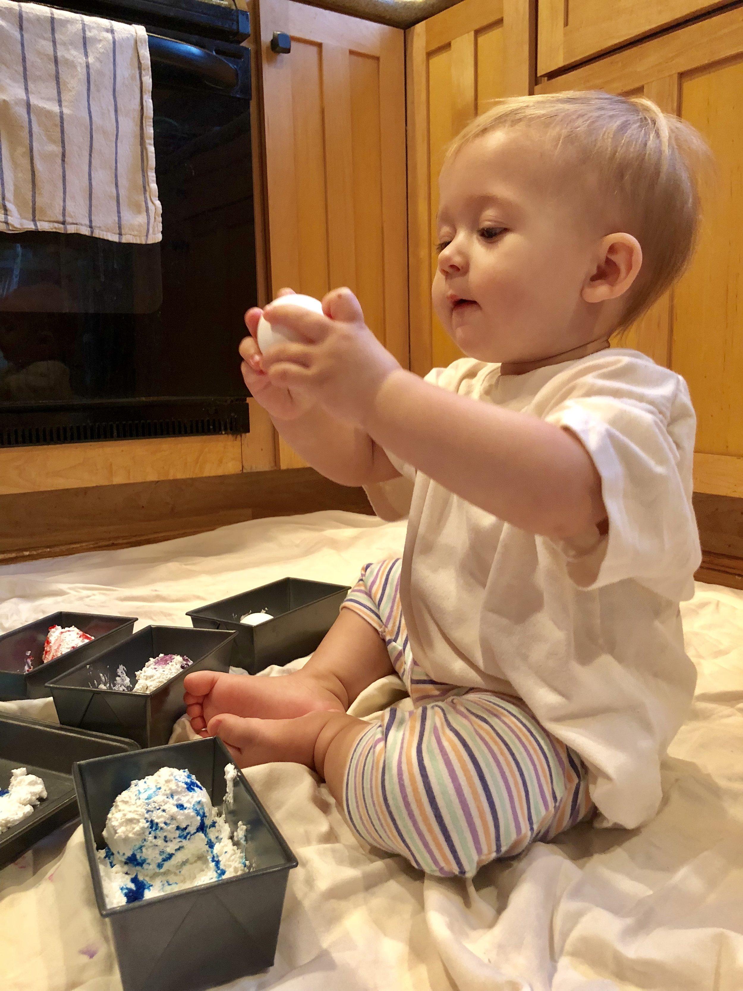 Eggs are fun!