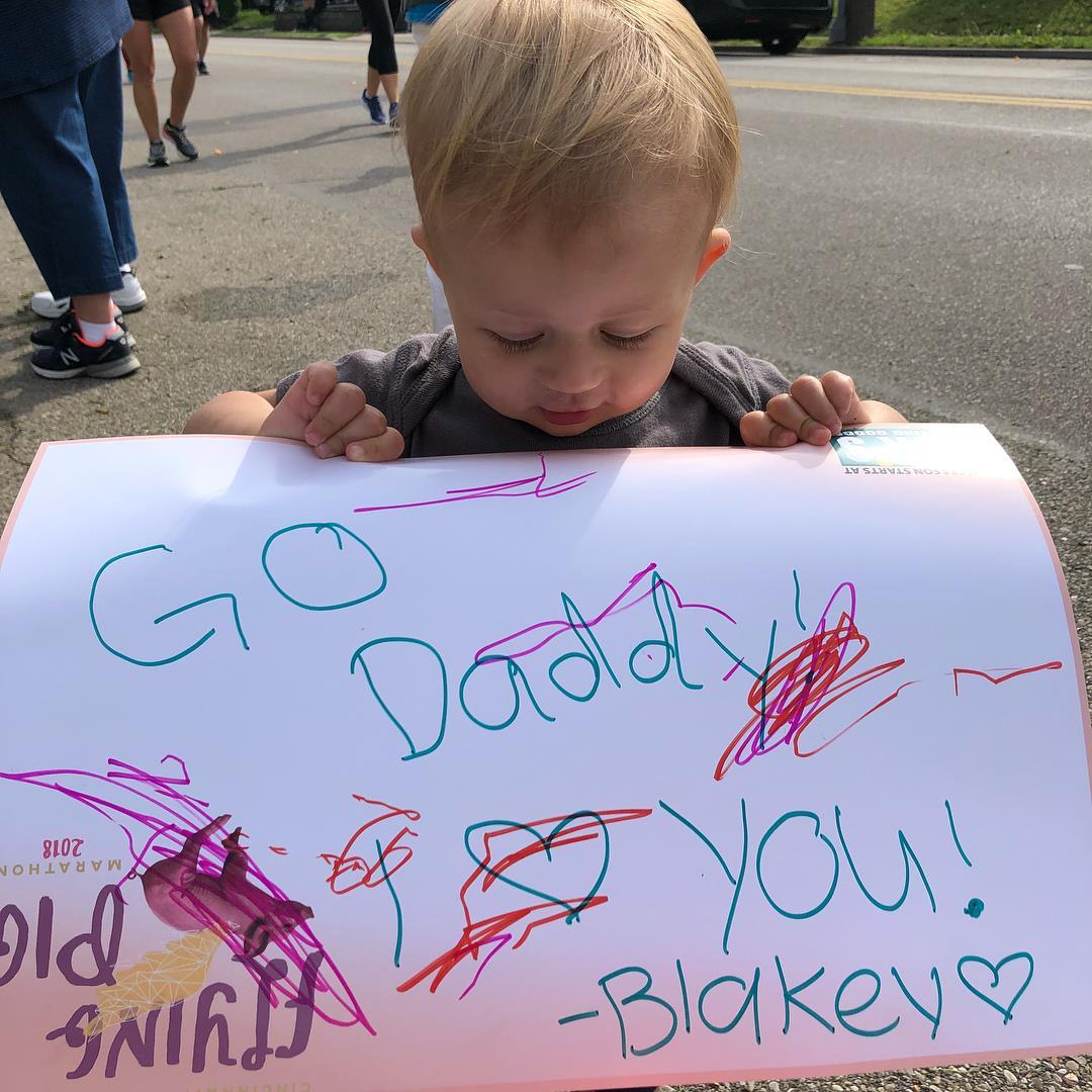 Marathon Kid Supporter