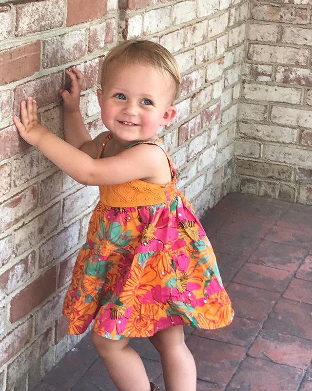 Summer dresses and big smiles!  #thisishowwestroll #dadlife #momlife #parents #familyblog #familyblogger #mommyandme #daddysgirl #mommysgirl #dad #momblogger #dadblogger #parentblog