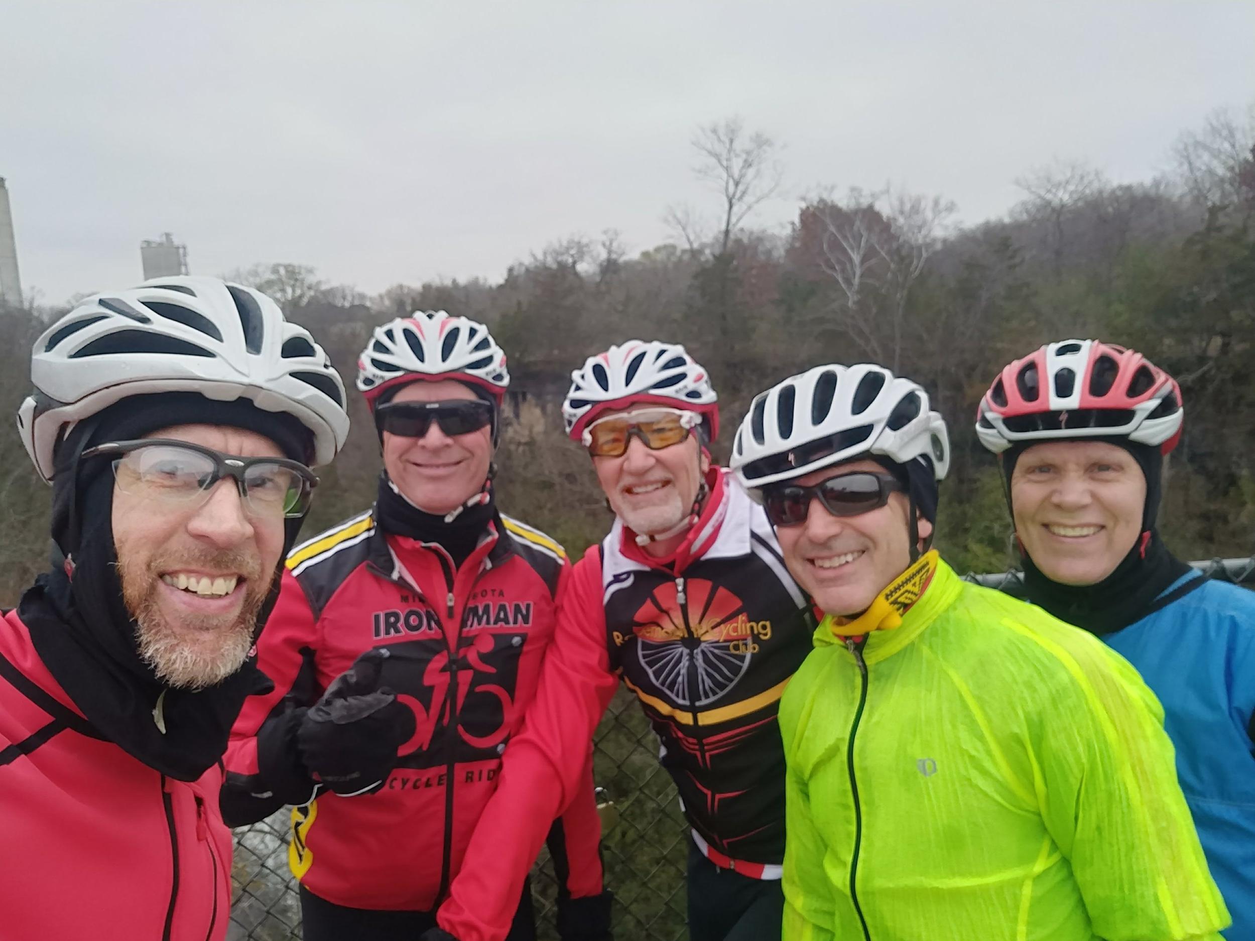 Cory, Doug, Dave, Jack, and Pete; Saturday, Nov. 4, 2017