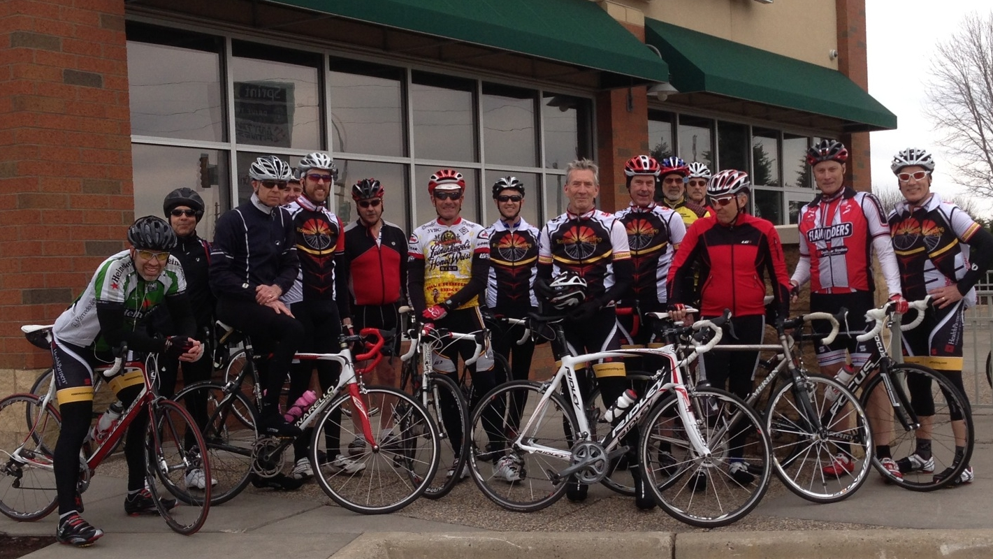 2014 - The first ride of the year; Rosemount MN; 2014-04-12