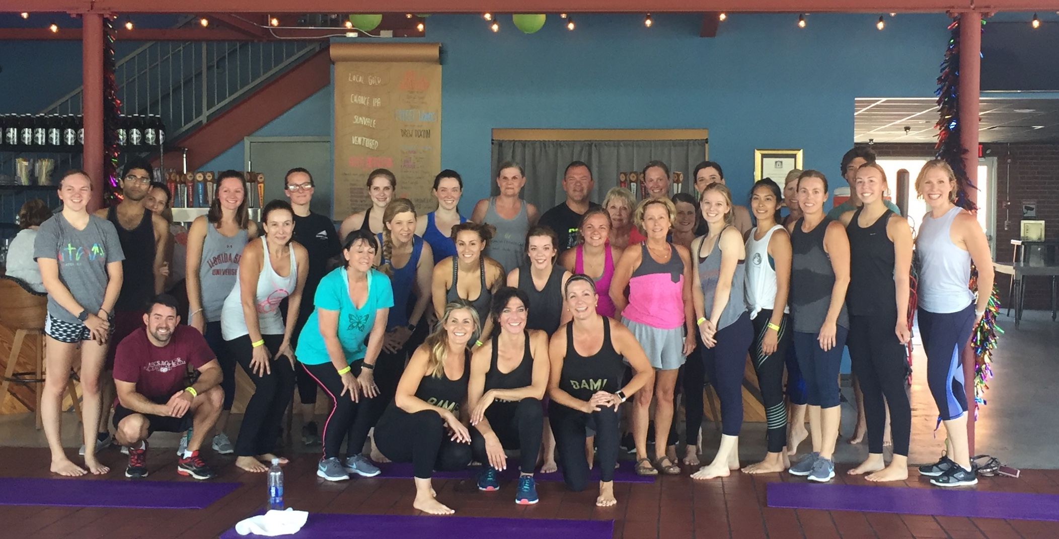 Thank you for attending PiYo + Beer on June 9th! So much energy, so much fun and so many smiling faces! Join us for Cardio Dance Fitness on June 23rd and keep the party going!