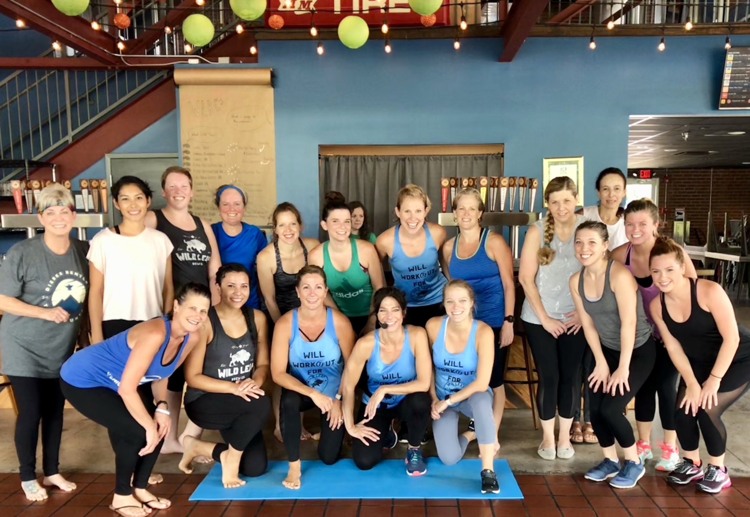 These amazing ladies made PiYo! look so pretty on Saturday August 18th! Hopefully they will all be back for Fit Fest next Sunday, August 26th from 1:30-5:00 PM!