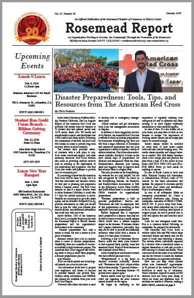 January 2018 - Rosemead Report