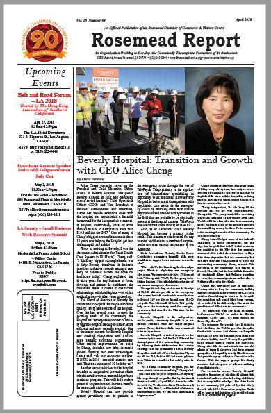 April 2018 - Rosemead Report