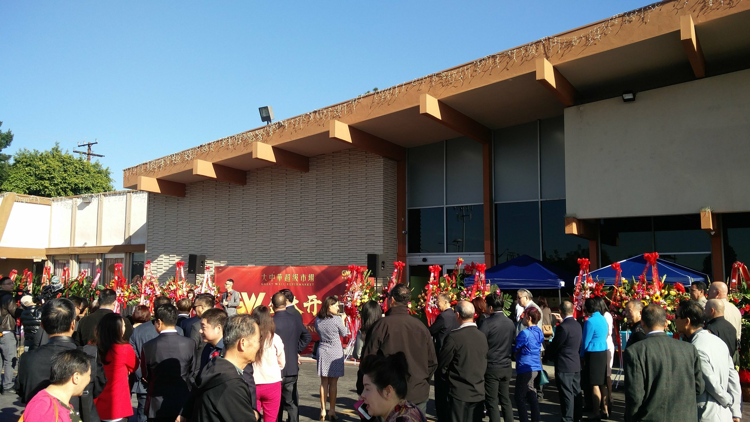 Great Wall Grand Opening, March 2018