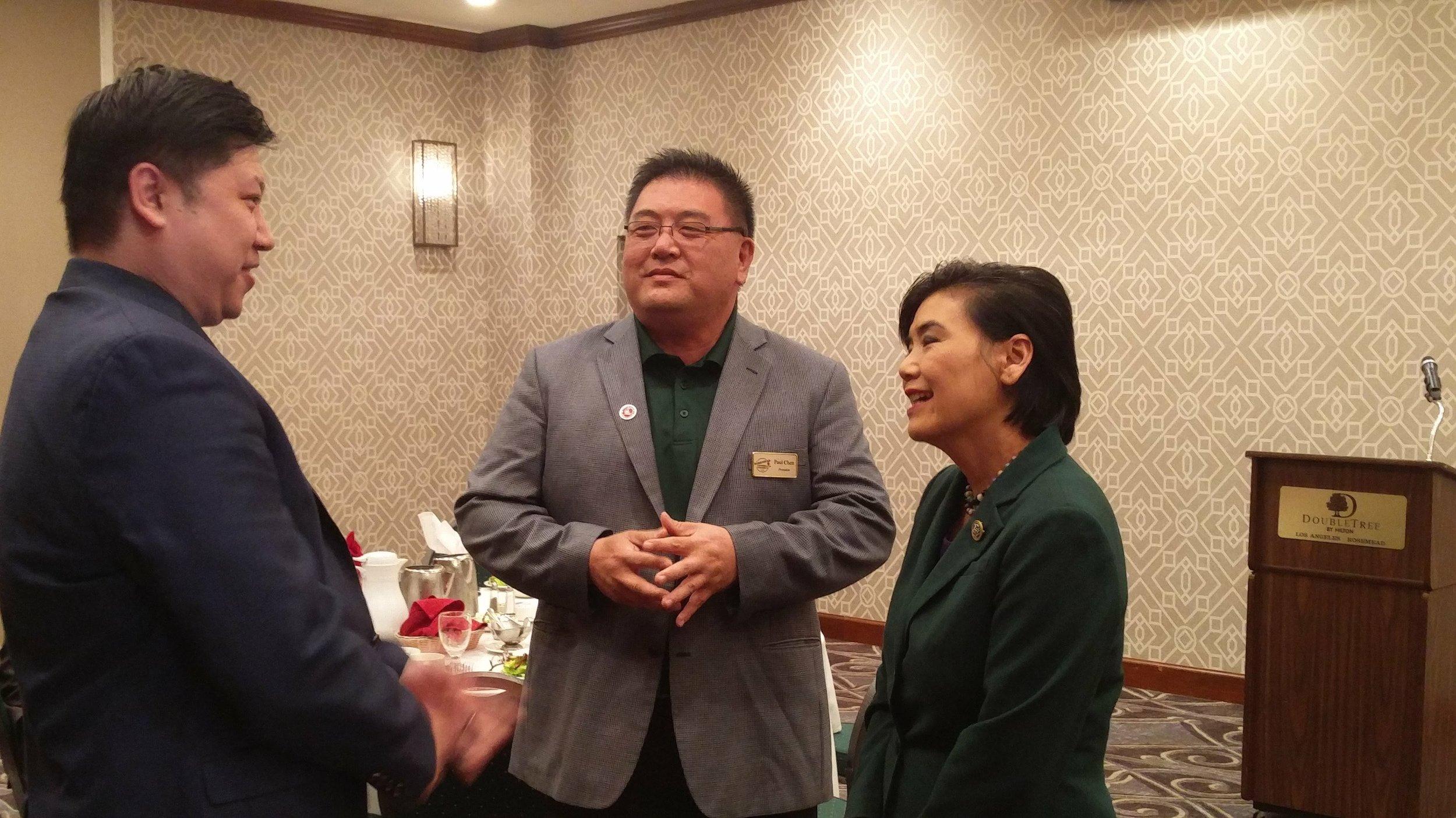 Congresswoman Judy Chu Lunch, May 2018
