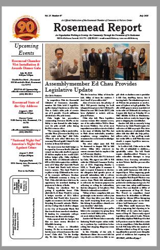 July 2018 - Rosemead Report