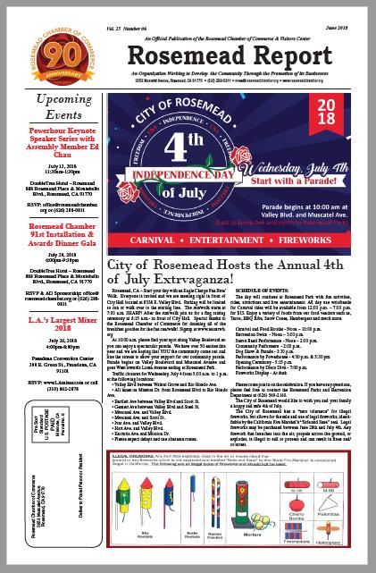 June 2018 - Rosemead Report