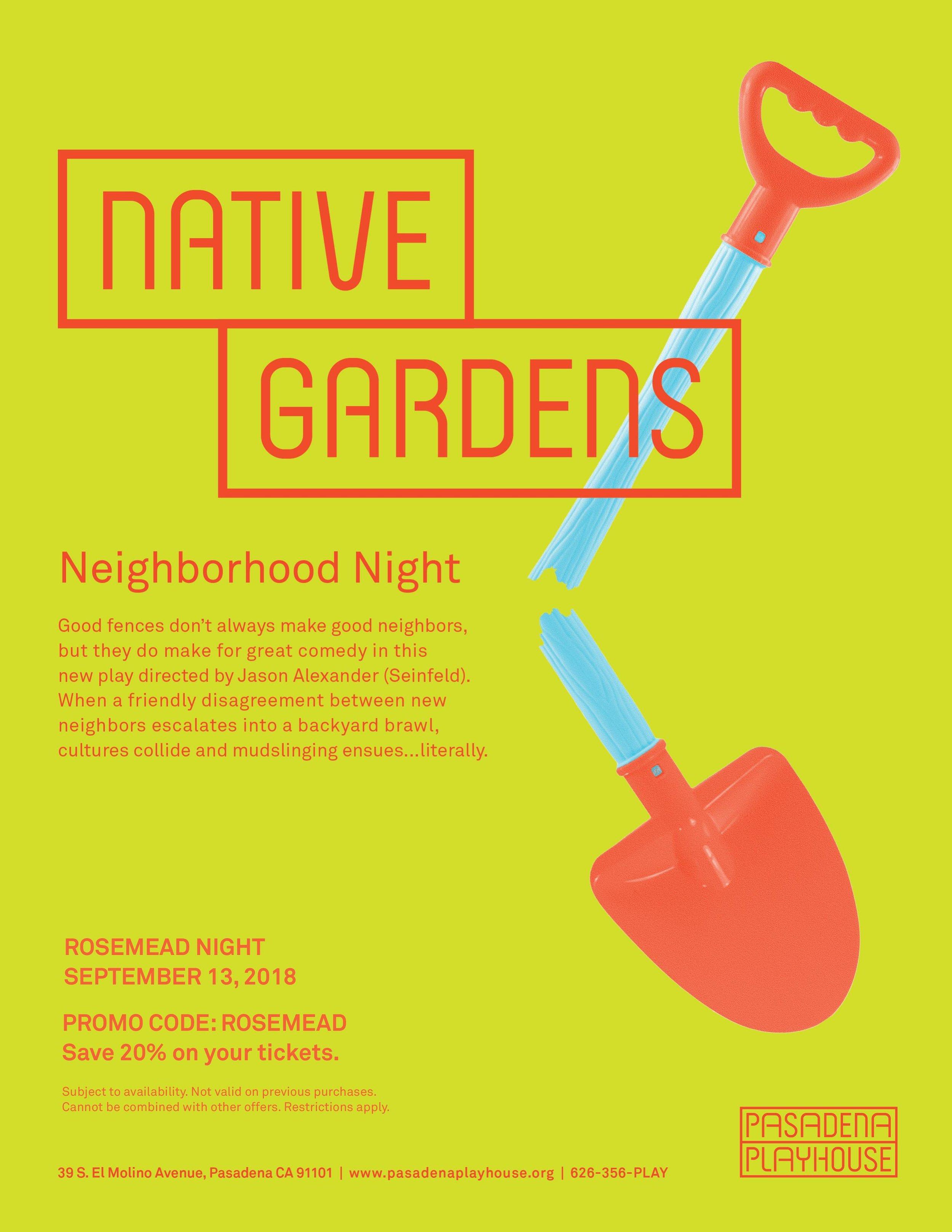 native gardens: rosemead night - September 13th, 2018